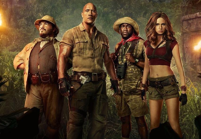 فيلم Jumanji: Welcome to the Jungle مترجم HD