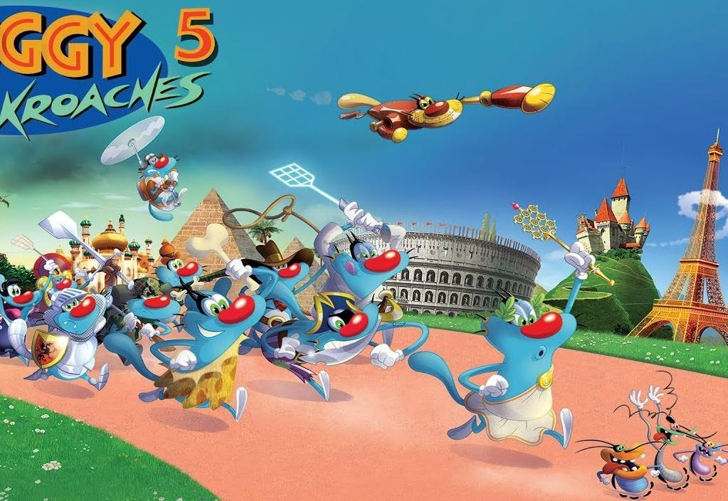 Oggy and the Cockroaches 5 الحلقة 12 HD انتاج 2018